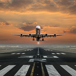 Airplane-taking-off