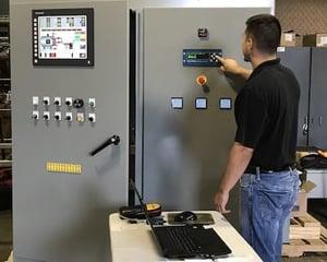 SCADA System Control Panel