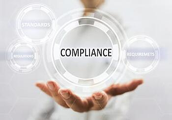compliance standards regulation and requirements bubbles