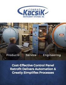 Conrad Kacsik Case Study - Control Panel Retrofit - AMEC