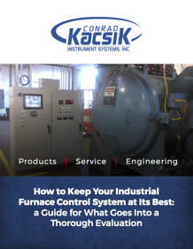 What goes into a thorough industrial furnace control system evaluation?