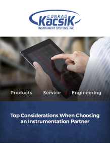 What to look  for in an instrumentation partner.